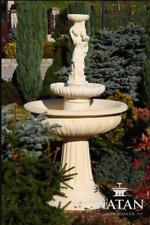 Springbrunnen Froschbrunnen Brunnen Steinbrunnen Gartenbrunnen Fontaine 164cm