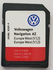 V12 2020 Volkswagen RNS 315 Carte SD Western West Europa Golf Passat Tiguan