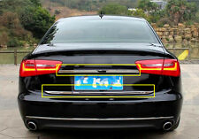 2012-2015 For Audi A6 C7 Rear Trunk Lid&tailgate Lid Bottom Cover Strip 2pcs