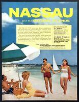 "TS81 Vintage Nassau Bahamas Travel Tourism Poster Print A3 17/""x12/"""