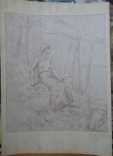 Pierre Puvis de Chavannes (1824-1898) estampe  P130bis