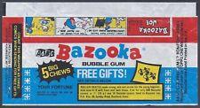 More details for a&bc wrapper-bazooka joe 1970's