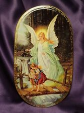 Bradford Exchange Annaburg Guiding the Way Angel Decorative Plate KS3696