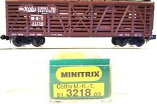 N MINITRIX 51 3218 00 40' MKT Cattle Car #47150