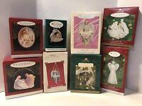 Hallmark Christmas Keepsake Ornaments Lot Of 8 Religious Angels Christmas Joy