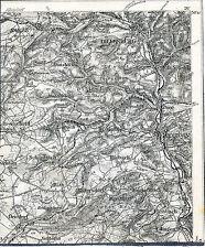 Dillenburg Herborn Haiger 1906 orig. Teilkarte/Ln. Breitscheid Sinn Schönbach