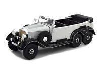 Scale model car 1:18 MERCEDES-BENZ G4 (W31) 1938 Light Grey/Black