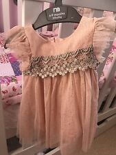 Baby Girl NEXT Occasion Dress 6-9 Months Brand New