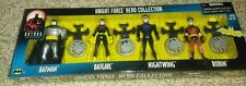 Kenner Knight Force 4 pack box Batman Nightwing Batgirl Robin Batman Animated