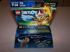 Lego 71232 Eris and Eagle Interceptor Chima Dimensions Fun Pack MISB New