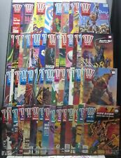 2000 AD (Fleetway, 1977) 54 issues from #650-850(1989-1993) Judge Dredd!