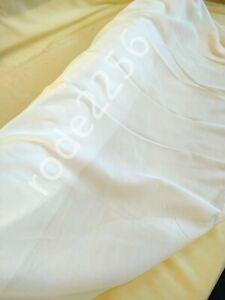 Voile Fabric , White, Cream, Ivory, Cotton Look Muslin 300cm wide Wedding craft