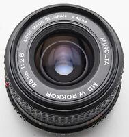 Minolta MD W. Rokkor W Rokkor 28mm 28 mm 1:2.8 2.8
