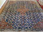 6 x 6.5 ANTIQUE OUSHAK TRIBAL KAZAK VINTAGE HEREKE SERAPI TURKISH HERIZ