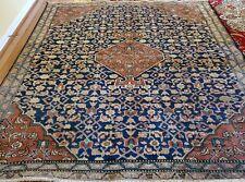 6 x 6.5 Antique Oushak Tribal Kazak Vintage Hereke Serapi Turkish Heriz Kula