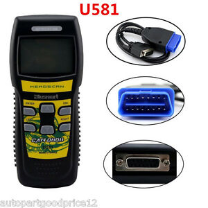 U581 Professional SUPER Diagnostic Scan Tool CAN OBD II OBD2 Code Reader Scanner