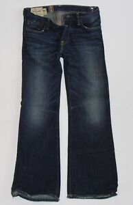 NWT! ABERCROMBIE Guys Boys Vintage Low Rise Slim Boot Baxter Jeans 16