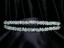 Bridal Wedding Rhinestones Crystal Tiara Headband 8023