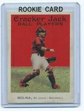 Yadier Molina 2004 04 Topps Cracker Jack Rookie Card #204 qty