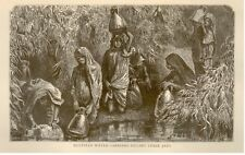 "Backsheesh by Knox -1875- ""EGYPTIAN WATER CARRIERS"""