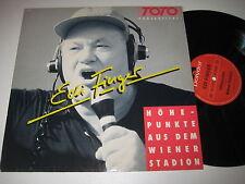 LP/EDI FINGER/TOTO PRÄSENTIERT/ HÖHEPUNKTE AUS DEM WIENER STADION/Polydor 831342