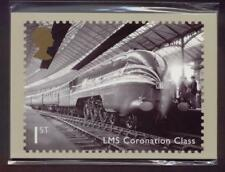 GB 2010 GREAT BRITISH RAILWAYS MINT PHQ STAMP CARDS