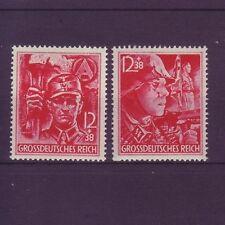 Echte Briefmarken aus dem deutschen Reich mit Postfrisch und Militär, Kriege