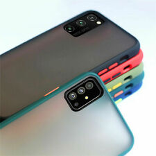 For Samsung Galaxy S20 S10 S9 S8 Note 10 9 8 Case Matte Slim Silicone Hard Cover