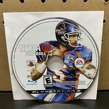 NCAA Football 08 (Sony PlayStation 3, 2007) PS3 Video Game Disc Only - Tested!