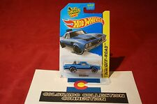 Hot Wheels - 68 El Camino - 2015 Hw Off-Road - 122/250 1:64 Blue
