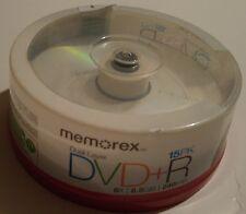 New Memorex DVD+R DL Dual Layer 15PK 8X 8.5GB 240min sealed