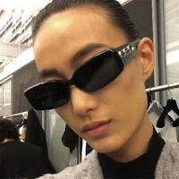 CEO Pop Sunglasses Rectangular Designer Fashion Eyewear Ladies Men Small Shades