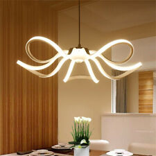 Lampadario soffitto led 45w a fiore moderno lampada luce fredda  calda naturale