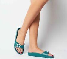 Sandali e scarpe verde Birkenstock per il mare da donna
