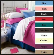 FLANNELETTE 100%25 Cotton Super Soft 10'' Deep Fitted Sheet, Matching Pillow Cases