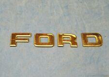 87-96 Ford F150 F250 F350 Tailgate Trim Panel Ford Letters  (4)
