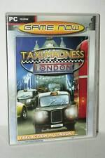 TAXI MADNESS LONDON GIOCO USATO PC CDROM VERSIONE TEDESCA FR1 40538