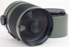 Minolta una (Sony) Sigma 600 mm 1:8 + Capucha-última versión 96 mm frontal rosca == como nuevo ==