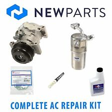 GMC Sierra 3500 Chevy Complete AC A/C Repair Kit With NEW Compressor & Clutch