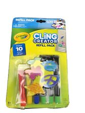 Crayola Cling Creator REFILL Pack New