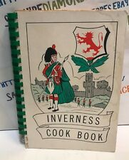 INVERNESS COOK BOOK EPISCOPAL CHURCH COOKBOOK EXTREMELY RARE!