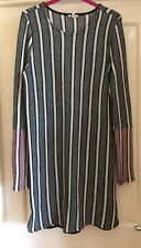 River Island Unusual Striped Knit Dress, Size 14 - Gorgeous!
