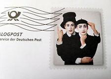 Ganzsache Motiv Pantomime Mimodrame Dialogpost Deutschland 2017
