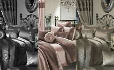 Zina & Kylie Fancy 7Piece Luxury Bedding Duvet Set + Cusihions + Fitted Sheet