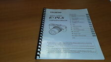 OLYMPUS E-PL5 DIGITAL CAMERA PRINTED INSTRUCTION MANUAL USER GUIDE 133 PAGES A5