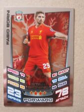 Match Attax 2012/13 - Star Signing card - Fabio Borini of Liverpool