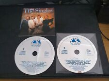 ABBA : The Singles: The First Ten Years Double CD(2 DISCS ONLY & FRONT COVER/BK)