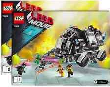 Lego Instruction Manuel only for Set 70815 Super Secret Police Dropship *NO SET*