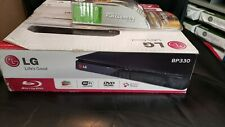 New LG BP330 Wifi Streaming Blu-Ray Player w remote and new Monster Cable HDMI