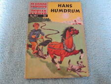Classics Illustrated Junior Comic #561 Hans Humdrum